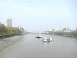 Vue depuis Vauxhall Bridge