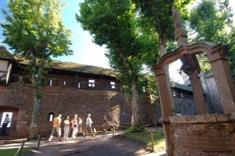 Haut-Jardin du château du Haut-Koenigsbourg/Copyright http://www.haut-koenigsbourg.fr/