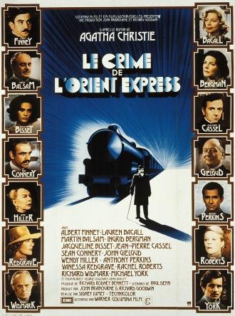 affiche le Crime de l'Orient Express de Sidney Lumet, 1974