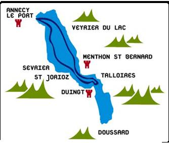 Source La Cie des bateaux du lac d'Annecy