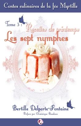 Couverture contes culinaires de la fée myrtille PRINTEMPS