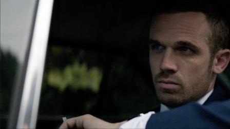Cam Gigandet au volant de sa voiture